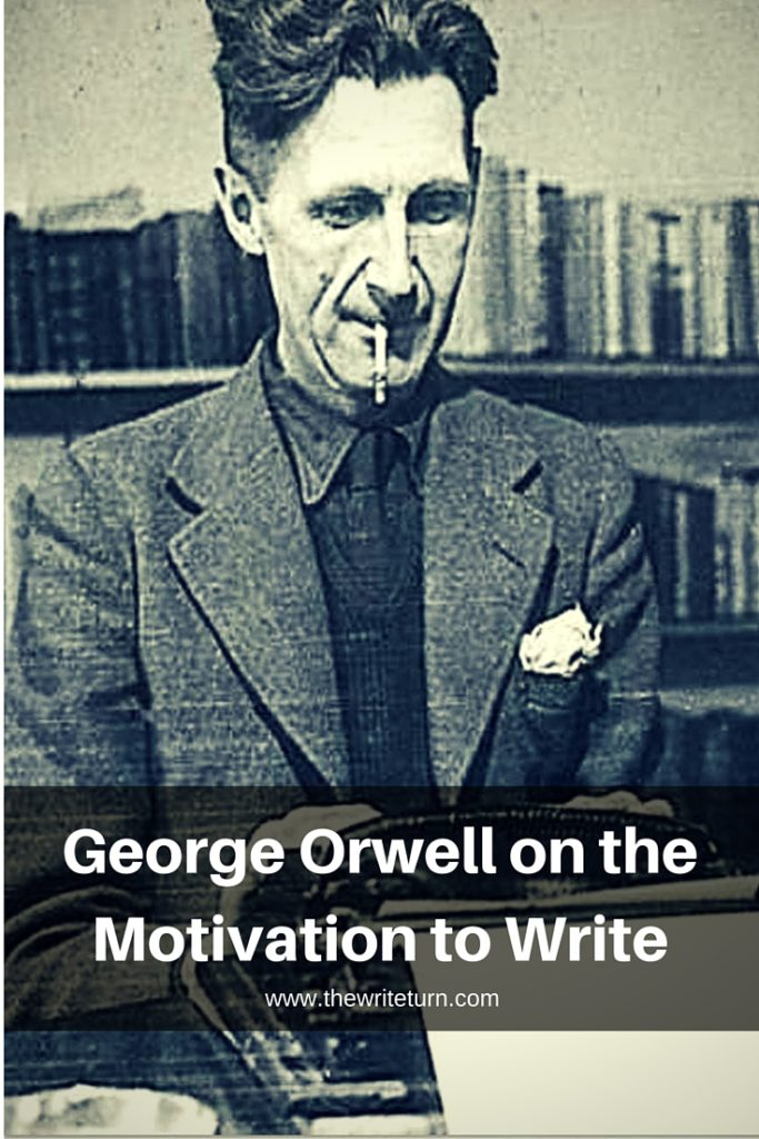 orwell essay why i write