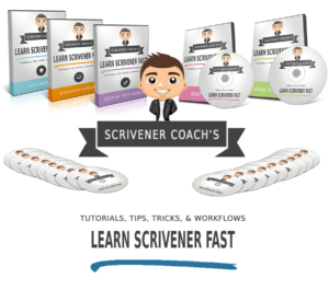 how to use scrivener tools for writers